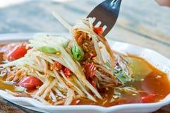 Alimento tailandés. Imágenes de archivo libres de regalías