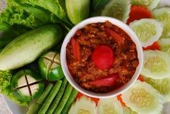 Alimento tailandés Fotografía de archivo libre de regalías