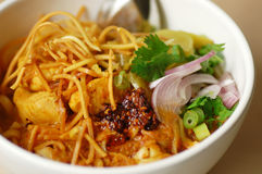 Alimento tailandés Imágenes de archivo libres de regalías