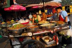 Alimento tailandés de la calle Foto de archivo