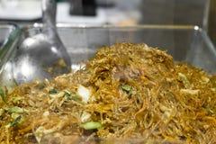 Alimento tailandés de la calle Fotos de archivo libres de regalías