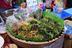 Alimento tailandés de la calle Fotos de archivo