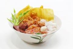 Alimento tailandés del fou de los Yenes TA Imágenes de archivo libres de regalías