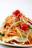 Alimento tailandés delicioso de Somtum Fotografía de archivo libre de regalías