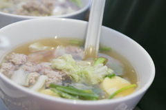 Alimento tailandés - fritada #6 del Stir Imágenes de archivo libres de regalías