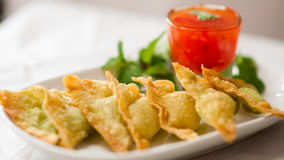 Alimento tailandés - fritada #6 del Stir imagenes de archivo