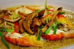 Alimento tailandés - fritada #6 del Stir imagen de archivo libre de regalías