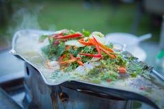 Alimento tailandés - fritada #6 del Stir Fotos de archivo libres de regalías