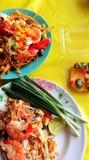 Alimento tailandés - fritada #6 del Stir foto de archivo