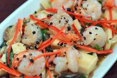 Alimento tailandés - fritada #6 del Stir Fotografía de archivo