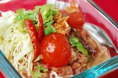 Alimento tailandés norteño Imágenes de archivo libres de regalías