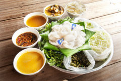 Alimento tailandês Fotos de Stock Royalty Free