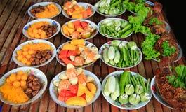 Alimento tailandês Fotografia de Stock