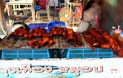 Alimento tailandês autêntico fotografia de stock