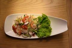 Alimento tailandês da salada Imagem de Stock Royalty Free