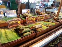 Alimento tailandês da sobremesa Imagens de Stock