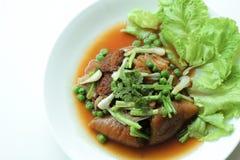 Alimento tailandês de KHAOKHAMU Fotos de Stock Royalty Free