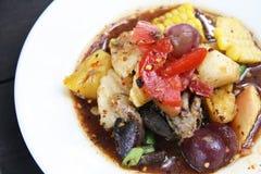 Alimento tailandês de Somtum Fotografia de Stock Royalty Free