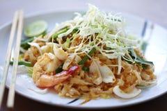 Alimento tailandês do camarão Imagem de Stock