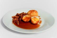alimento tailandês do koey do olhar do kai Fotos de Stock