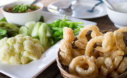 Alimento tailandês do norte da tradição Fotos de Stock Royalty Free