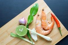 Alimento tailandês do poppula de Tom Yum Goong Imagens de Stock Royalty Free
