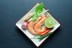 Alimento tailandês do poppula de Tom Yum Goong Fotografia de Stock Royalty Free