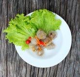 Alimento tailandês do sagu. Imagem de Stock