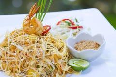 Alimento tailandês em um hotel de luxo fotografia de stock