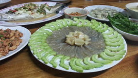 Alimento tailandês - fritada #6 do Stir Fotografia de Stock Royalty Free
