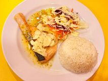 Alimento tailandês - fritada #6 do Stir imagens de stock royalty free