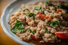 Alimento tailandês - fritada #6 do Stir Imagem de Stock