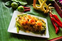 Alimento tailandês - fritada #6 do Stir imagens de stock
