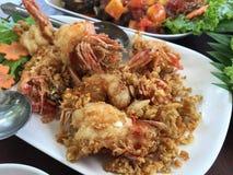 Alimento tailandês - fritada #6 do Stir Foto de Stock