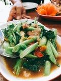 Alimento tailandês - fritada #6 do Stir Foto de Stock Royalty Free