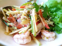 Alimento tailandês - fritada #6 do Stir Fotografia de Stock