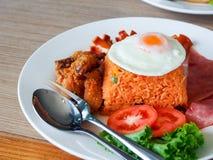 Alimento tailandês - fritada #6 do Stir Fotos de Stock