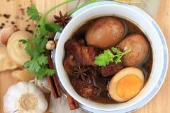 Alimento tailandês, Khaipalo imagem de stock