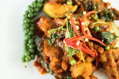 Alimento tailandês na tabela Fotos de Stock Royalty Free