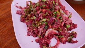 Alimento tailandês nativo fotografia de stock