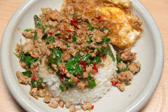 Alimento tailandês picante e delicioso Imagem de Stock