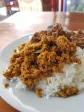 Alimento tailandês sul imagem de stock