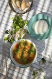 Alimento tailandês - tom Yum Goung foto de stock