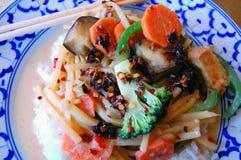Alimento tailandese Fotografie Stock