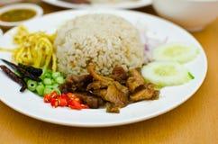 Alimento tailandese del riso. Fotografie Stock Libere da Diritti