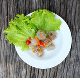 Alimento tailandese del sagù. Immagine Stock