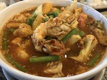 Alimento tailandese del Tom Yum Kung Fotografia Stock Libera da Diritti