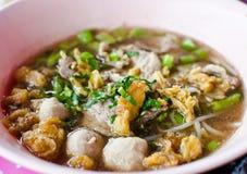 Alimento tailandese della tagliatella. Fotografia Stock Libera da Diritti