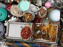 Alimento tailandese della via Fotografia Stock