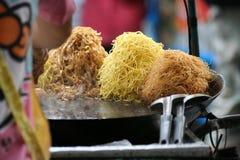Alimento tailandese della via Immagine Stock